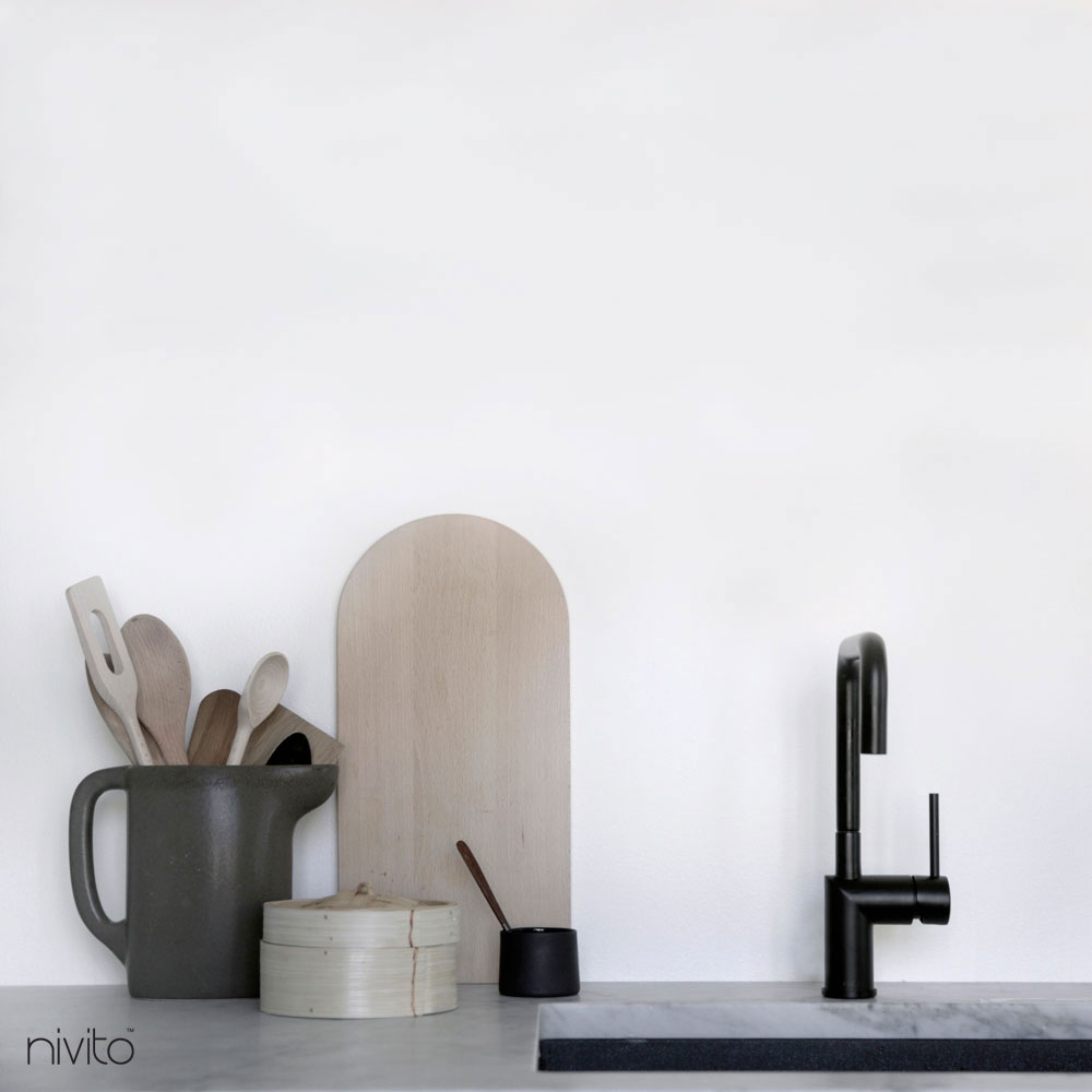 Kitchen tapware black