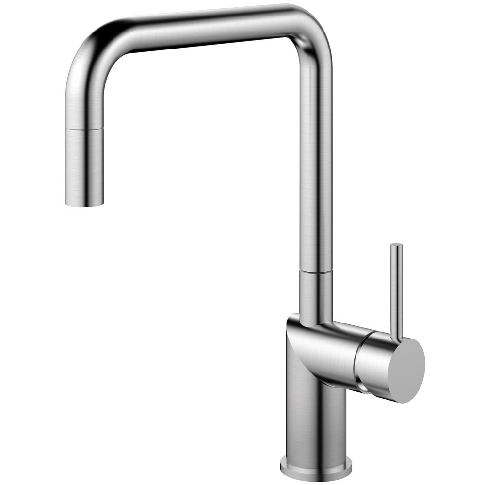 Stainless Steel Kitchen Tap Pullout hose - Nivito RH-300-EX