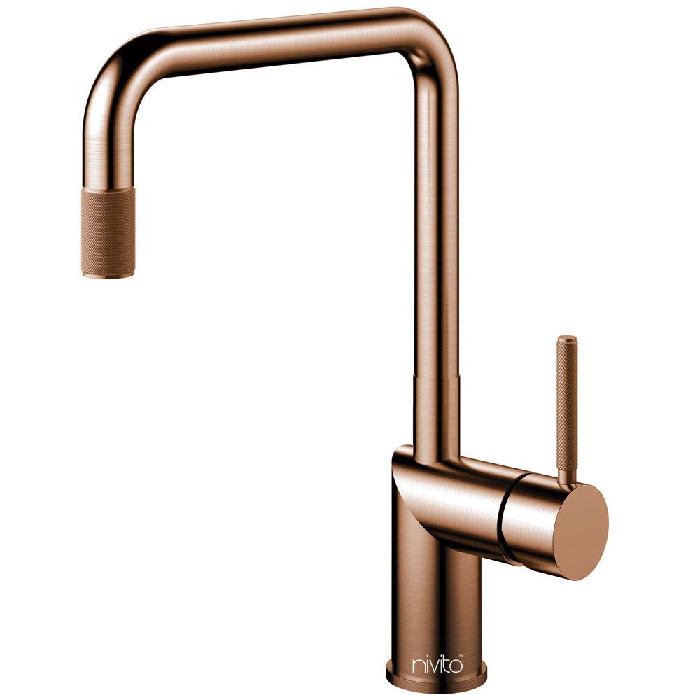 Copper Kitchen Tap - Nivito RH-350-IN