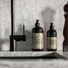 Black Kitchen Mixer Tap - Nivito 3-RH-120
