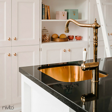 Copper Kitchen Mixer Tap - Nivito 2-CL-170