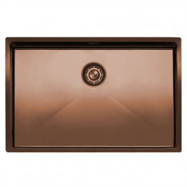 Copper Kitchen Sink - Nivito CU-700-BC