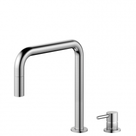 Stainless Steel Kitchen Mixer Tap Pullout hose / Seperated Body/Pipe - Nivito RH-300-VI